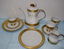 Tirschenreuth Porzellan Z & Co, Ätzgold Goldrand, Kaffeeservice Teile z. Auswahl