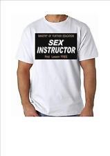 Instructor de sexo camiseta Algodón 100% Excelente Para Eventos Divertidos y Noches Fuera