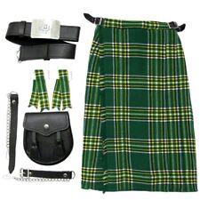 Tartanista Irish Baby/Babies & Boys Outfit - Kilt, Sporran Belt & Flashes  0-14