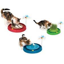 Play-n-Scratch Spielzeug Biene - mit Kratzer, Massagematte oder Katzengrasgarten