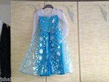 Disney Frozen Princesa Elsa Fancy Dress Costume todas las edades Nuevo ** ver **
