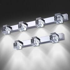 LED Wall Sconces Light Fixture K9 Crystal Bathroom Mirror Front Lamp Bedroom Bar
