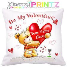 ❤ Personalizado Oso De Peluche Cojín Novio Novia Regalo de San Valentín Lindo Love ❤