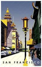 San Francisco : advertising Poster reproduction