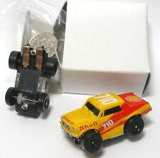 1990 Galoob Micro Machines 1/87th Shell 1967 Mustang Slot Car NOS MIB