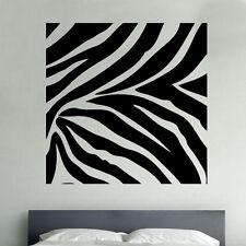 Zebra stampa animali Decalcomania Parete In Vinile Autoadesivo di arte della fauna selvatica arredamento locale (SD7)