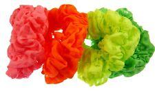 Bright Neon Hair Scrunchies Ponytail Holder Hair Scrunchie  Elastic Hair Band