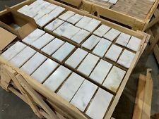 Marble Tiles, Subways Calacatta, Luxury Marble Floor Wall Natural Stone 70x140mm
