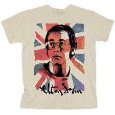 Elton John 'Union Jack' T-Shirt - NEW & OFFICIAL