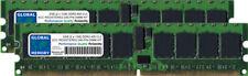 2GB (2 X 1GB) DDR2 400MHz PC2-3200 240-PIN ECC Registrada RDIMM SERVIDOR RAM KIT
