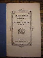 SEMINARIO PERUGIA DISTRIBUZIONE PREMI 1855