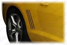 Chevrolet Camaro 2010-2015 Gill Vent Insert Overlay Side Stripes (Choose Color)