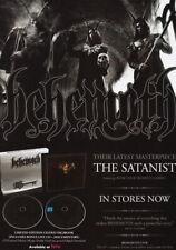 62696 BEHEMOTH The Satanist PHOTO Wall Print Poster Affiche