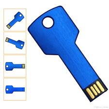 USB Germany KEY Blau USB Stick Blue Schlüssel USB Flash Drive 2.0