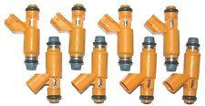 SET of 8 Brand New OEM Jaguar Fuel Injectors 2003-06 4.2L (XK8, XJ8, S Type, VP)