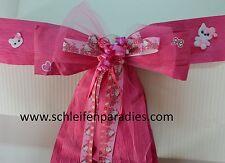 Hello Kitty Autoschleife, Riesen Geschenkschleife,  9 Farben, Deko -  Schleife