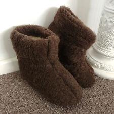 Botas De Lana Merino's Brown Sheep Zapatillas suela de gamuza de piel de cordero para mujeres Damas Para Hombre