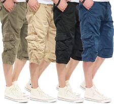 SHINE ORIGINAL LUNGO Cargo Pantaloncini 2-58090 Nero, Sandstorm, Army, Blu notte