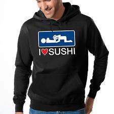 I love Sushi | 69 | Sex | Fun | Sprüche | Party | Adult | S-XXL Sweatshirt