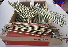 Viti per legno Assy Standard Tps Zincate Gialle Diam.6 mm  Wurth (1 Conf.)