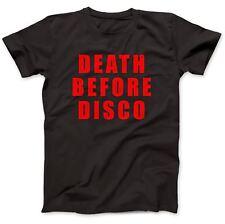 Death Before Disco T-Shirt 100% Premium Cotton Worn By Judge Reinhold Stripes
