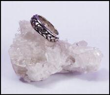 ein Silberring 925 Ring Drehring versch. Größen Zopfmuster Damen o.Herren NEU