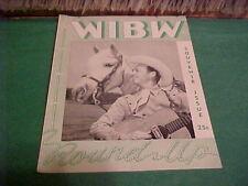 JULY 1947 WIBW TOPEKA KANSAS RADIO STATION MAGAZINE