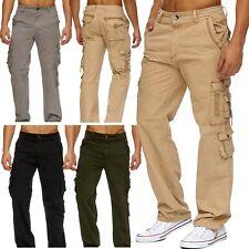 Uomo Cargo Hose RANGER Cargo Jeans Loose Fit Cargo pantaloni pantaloni da lavoro