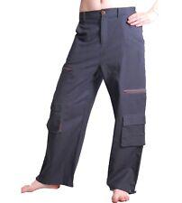 Señores baggy pants hippie Goa laursen algodón pantalones de arte y magia