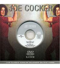 JOE COCKER Feelin Alright 5 RARE LIVE TRX DVD VIDEO Single SEALED USA seller