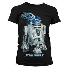 Officially Licensed Star Wars- Star Wars R2D2 Women T-Shirt S-XXL Sizes