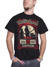 Motorhead T Shirt Everything Louder in Osaka Japan Tour Official Mens New Black