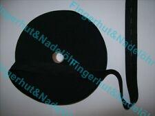 (1,10€-3,60€/m) Lochgummi Breit 15,20,25,30mm Schwarz Gummiband Knopflochgummi