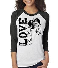 Love A Frenchie Baseball Tee French bulldog shirt for Frenchie Bulldog Lovers