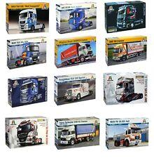 Italeri Trucks & Trailers 1:24 Scale Model Kits Choice available