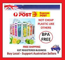 700ML Fruit Infusing Infuser Sport Health Water Bottle Lemon Juice Maker Defect