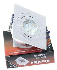 230v deckenfassung Lenard anguloso GU10 3 vatios=25 vatios SMD LED