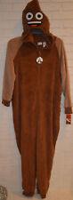 Women's Poo Hoodie One Piece Pajama Lounge Sleep Suit Sizes S, M, L, XL, 2XL