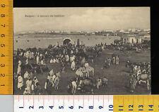 25113] EX COLONIE LIBIA - BENGASI - MERCATO BESTIAME