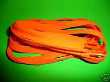 SHOELACES 120CM FLURO ORANGE SHOELACEs,see my store shoe laces , laces