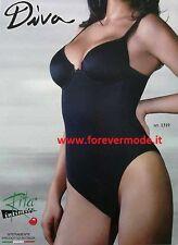 Body donna Rita con ferretto non imbottito a controllo leggero comfort art 1319