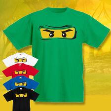 CHILDRENS  Ninjago T-shirt  KIDS  Tee Funny Cool 3-15