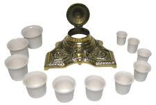 WHITE Ceramic Inkwell insert Porcelain inkpot inkwell liner choice of 11 sizes