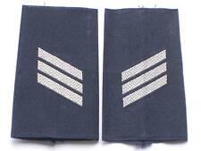 Bw-Rangschlaufen:Hauptgefreiter  ,Luftwaffe,weiß/blau