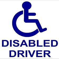 1 x conducente disabile Adesivo Auto logo-external disabilità Segno Avviso di mobilità