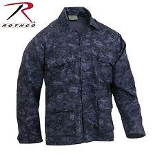 Rothco Midnight Digital Camo BDU Shirt - Men's Long Sleeve BDU Camo Shirt/Jacket
