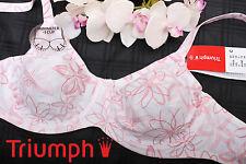 Triumph Bügel BH Bügel  Flower Minimizer W unwattiert ungepolstert NEU