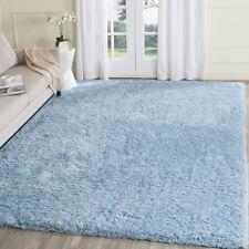 Soft Baby Sky Blue Shag Area Rug Rugs 8' x 10' 4 6 5 8 7 10 8 10 9 12 13 15
