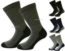 Herren Thermosocken für stabile Waden EXTRA WEIT 6er Pack mit Baumwolle 39-45
