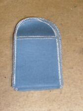 "50 ea Anti Tarnish Flannel Cloth   MATCH SAFE VESTA CASE   Bag 2 1/4 "" X 2 3/4"